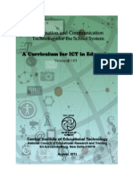 A Curriculum for ICT in Education