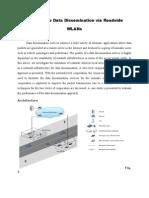 Cooperative Data Dissemination