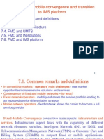 7 Fixed Mobile Convergence IMS
