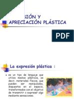 expresión y apreciacion plástica en Edu Inicia