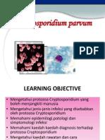 Cryptosporidium