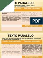 Texto Paralelo I Oscar Ochaeta