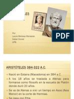 Unidad 1 Aristoteles - Laura Melissa Meneses