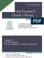Unidad 8 El Alto Imperio Romano (Avances)