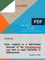 Acne Vulgaris Nelson
