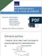 Analise instrumental_Seminário Sildenafil