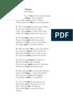 Adoro Te Devote - Sto Tomás de Aquino - (Em Português) - para melodia orginal