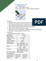 Rf Connector Datasheet