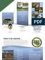 Bertie Recreation Department Brochure