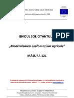 Ghidul Solicitantului m121 Iunie 2013