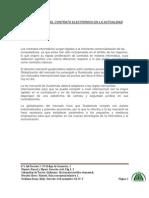Importancia de Los contratos electrónicos actualidad f