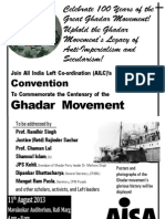 AISA Poster Aug 11 Ghadar Convention
