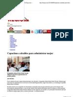 09/08/13 Capacitan a alcaldes para administrar mejor | El Regio.com – Noticias de Monterrey, México y el Mundo