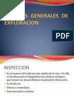 Tecnicas Generales de Exploracion