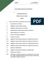 ET Por Partidas - Indice SUB PRESU 005 Ultimo
