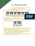 Clase de Piano Teoria