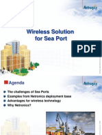Netronics Wireless Solution for SeaPort Application