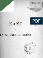 Kant Et La Science Moderne