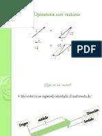 Operatoria Con Vectores y Proyectiles