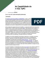 Indices de Capabilidade Do Processo
