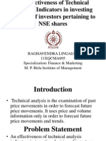 Raghavendra Lingaih 11XQCMA095 Technical Analysis