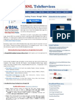 BSNL Broadband Data Usage Checking Process Through Online Portal and SMS _ BSNL TeleServices