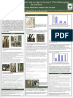Elephant utilization of riparian tree species and the use of TPCs in Mapungubwe National Park