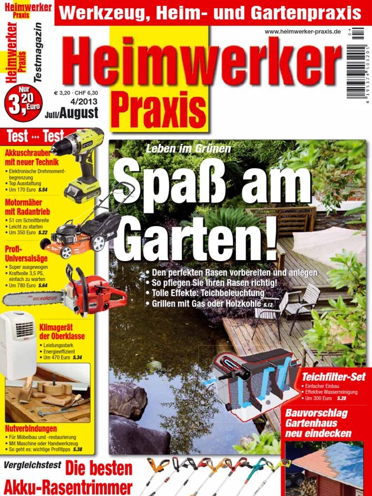 Heimwerker Praxis n04 Juli August 2013
