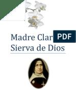 Obra Teatral; Madre Clarita Sierva de Dios