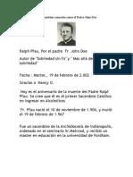 Padre Ralph Pfau