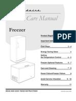 freezer manual