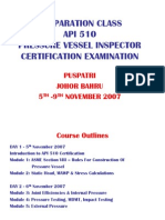 Pressure Vessel Inspector Certification - By Puspatri