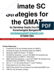 SC PPT - The Best Resource for GMAT SC From Ivy-GMAT (Sandeep Gupta)
