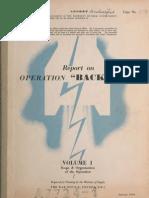 V-2 OPERATION BACKFIRE VOL 1