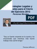Estrategias Cierre Del Ejercicio 2012 Colegio-BCS