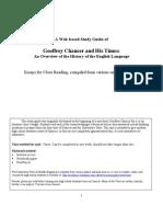 Chaucher and History of English Web Unit