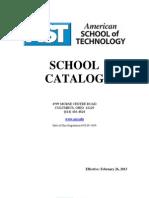 AST Catalog February 26, 2013