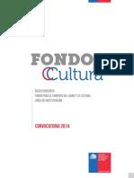 Fondo de Cultura 2014 - Fomento del libro y la lectura