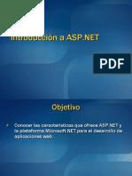 Introduccion a ASP.net