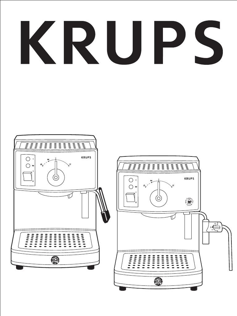 Krups Aroma Control Mode Demploi