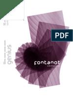 Catalogue Staircase Genius Fontanot