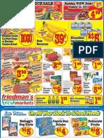 Friedman's Freshmarkets - Weekly Specials - August 22-28, 2013