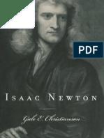 Isaac Newton, Gale E. Christianson