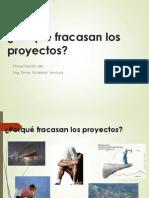 El Fracaso de Los Proyectos