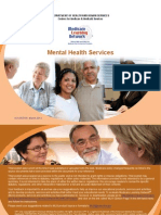 Mental Health Services ICN903195