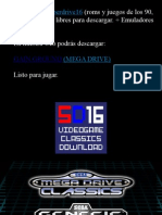 Gain Ground Megadrive Manual Instrucciones