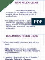 MEDICINA LEGAL - DOCUMENTOS MÉDICO-LEGAIS1