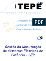 Curso Gestão De Manutenção - Eletricidade