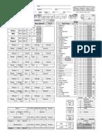 Arcanist Sheet