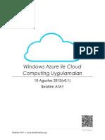 Windows Azure ile Cloud Computing Uygulamaları Kitap